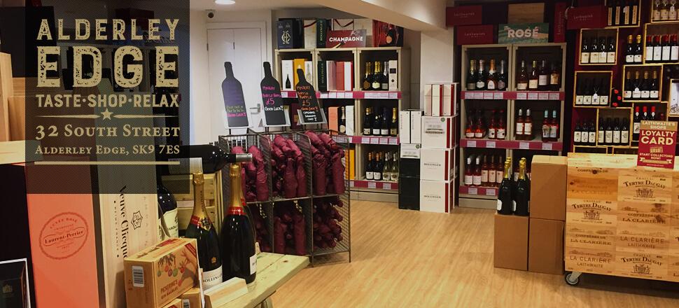 Wine-tasting at Laithwaite's