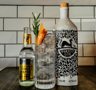 Anyone for a G&T … award-winning Forest Gin of course!